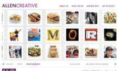 Allen Creative – Website Design