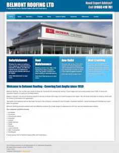 Belmont Roofing – Website Redesign