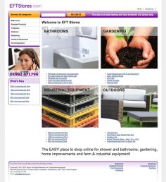 EFT Stores Website Design