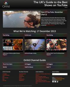 OnVid – Website Design