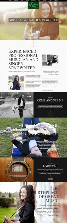 Donna Mackay – Website Redesign
