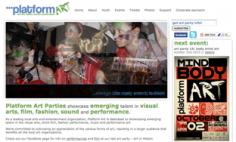 Platform Art, Florida – Website Redesign