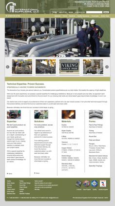 PM First International – Website Redesign – 2013