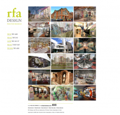 RFA Design – Website to WordPress Redesign