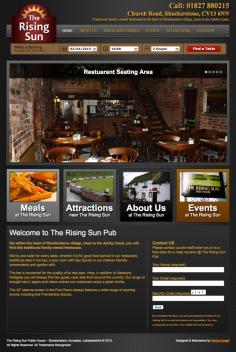 The Rising Sun – Website Redesign