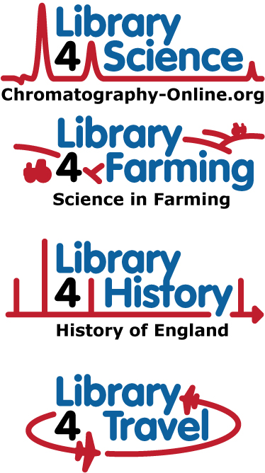 Library 4 Science Series of Logos