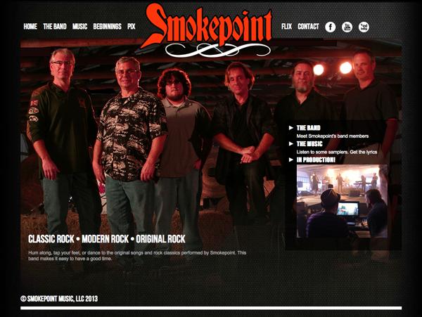 Smokepoint - Website Design